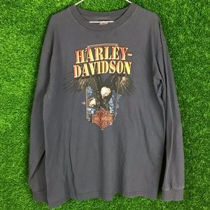 Harley Davidson HD Sarasota Eagl Long Sleeve Shirt
